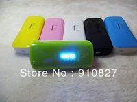 portable phone charger 5600mah power bank with led flashlight free shipping 30pcs