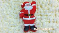 UFD0384 wholesale freeshipping Hotsale Cute Santa Claus MD612 Gift USB Flash Drive Christmas Gift USB Flash Disk drive  4GB-32GB