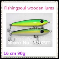 Wooden fishing lures, WDL042-18, 18cm, 90g, fishing baits