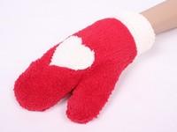 NEWS Super cute fresh deer winter warm wool gloves, mittens women plus velvet Mittens  gloves women