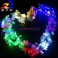 10 m tail plug Christmas tree lights  flashing led waterproof string lights decorative lights