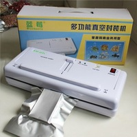 Plastic Bag Reseal Save Fresh Food Heat Sealer Reseal & Save Portable Vacuum Sealer Use Betteries EMS Free Shipping