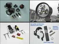 1SET Moto LED Work Spot Light 12W 900Lumen 3*Cree XML T6 4T6 LED Motorcycle Driving Light 12V-16VDC