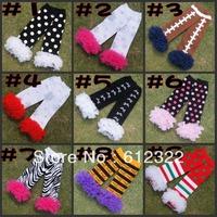Free shipping wholesale baby leg warmers girl zebra print cotton leg warmers 12pairs/lot