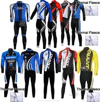 2013 giant Thermal Winter Fleece Cycling Jersey Long Sleeve and Cycling bib Pants/cycling clothing/maillot cycling