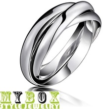Free Shipping Wholesale 2013 Fashion ring Women's 316L Stainless Steel rings for women Gift LD005
