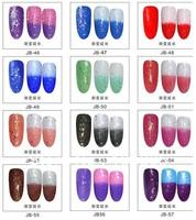 12colors Temperature Changing Color Builder Gel Set Chameleon Nail Gel Polish Soak Off UV LED Gel * Perfect Match MOOD Reaction