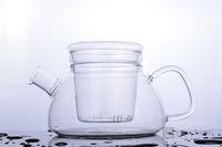 3 patterns available, 800ml household glass teapot, fashion pattern design glass kettle, enjoying you tea time