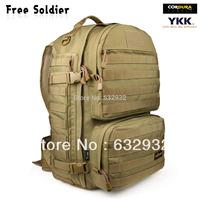 Outdoor backpack waterproof mountaineering bag backpack travel backpack tactical bag large capacity