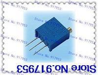 10PCS  3296W VR variable resistor 100R-1M,13 valuesX2pcs=26pcs,VR variable resistor Assorted Kit