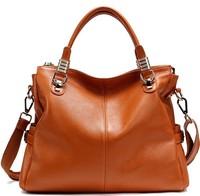 Genuine leather handbags for women brand women's messenger bag leather shoulder bag tote bag