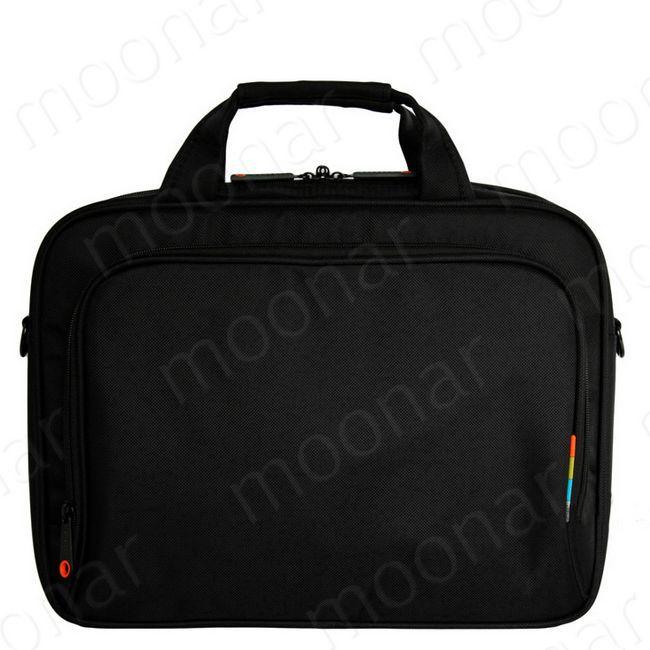 New Hot Black Canvas 14'' Laptop Bag Netbook Tablet Handbag Shoulder Bag Messenger Totes For Men&Women YNB429(China (Mainland))