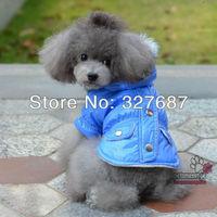 Pet Product Dog Winter Clothes Jacket Snow Coat Clothes Raincoat Dog Products 5 Colors 5 Sizes Free Shipping Wholesale 10pcs/lot