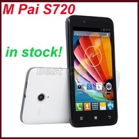 "Original M Pai S720 MTK6572 4.5"" Android 4.2 mobile phone 512MB+4GB GPS WIFI 3G WCDMA unlocked phone black white/Oliver"