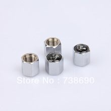 Stainless Steel Silver White 4 Pieces Car Wheel Tire Valves Tyre Stem Air Caps Airtight Cover Fit for Infiniti(China (Mainland))