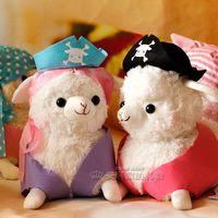 soft toys Pirate alpaca Large 29cm exo-m kris alpaca doll pirates plush toy free shipping