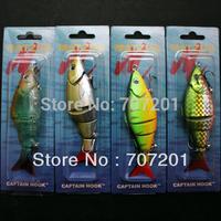 4Pcs/Lot  MATZUD Fishing Swim Baits Floating Lures 125mm 20g ,Free Shipping