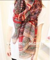 2013  Autumn & Winter   Bohemian national wind Scarf   women fashion scarf