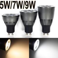 5 pcs High Bright 5w/7w/9w  LED COB SpotLight Bulb  GU10 Cool White/Warm White dimmable  AC85-265V lamp Lighting Epistar