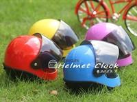 Free shipping 1Piece Novelty Alarm Clock Racing Helmet Alarm Clock for F1 Fans