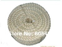 6mm natural  sisal rope sisal twine decoration rope for packing diy cat scratch board cat climbing frame 50m/pcs