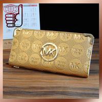 Free Shipping  Famous Design Women pu Leather Wallet Fashion High Quality Money Bag Long Design Ladies' Purse