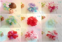 Newest Generous lady hair accessories Bridal hair grips  flower hair ornaments wedding party use Party Woman Flower