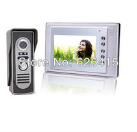 Ultra Low Price 7 Inch Color Video Door Phone with Waterproof Camera Color TFT LCD Video Door Phone Bell System