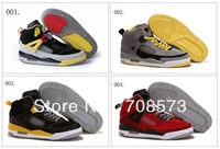 7 Colours Wholesale Air Retro 3.5 Spizike Suede Men's Basketball Sport Footwear Sneakers Trainers Shoes  ( 1 - 7 Colours )