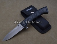 PPQ Walther Survival Folding Knife 5Cr15MOV Blade ABS Handle Gift Knife Outdoor Tools