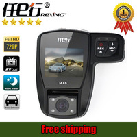 [Rexing Brand ] original mx6 car dvr recorder ,Super wide angle,  hd 1920*720p , night vision ,Dual Lens,free shipping