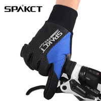 2014 SPAKCT Winter Men's Non-Slip Gel MTB BMX Motorcycle Bike Bicycle Cycling Cycle Wear Full Long Finger Gloves-Sharp, 4Color