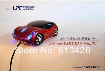 nice 20pcs/lot hot sale VIP PRICE! Car Shape USB 3D Optical Mouse Mice For PC/Laptop Wholesale free shipping