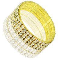 new 2014 Min Order $5 (Mix Order) 4 Rows Rhinestone Bracelet Crystal Stretched Bracelet Gold Tennis Bracelet