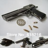 Free shipping metal black 1:2.5 Desert Eagle gun, toy handgun model gift for boys  987