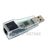 Dual port usb to rj45 10/100 mbps USB Ethernet Network card LAN Adapter