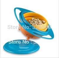 Wholesale -  Feeding Bowl Universal/Baby Toy Bowl Training Bowl/UFO Rotating for kids / toy English Gift Box Packge Christmas