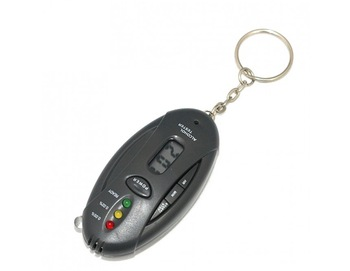 Personal Alcohol Breath Tester Colock & Flashlight