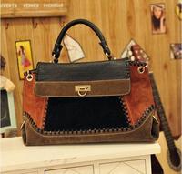 hot sale fashion retro winter colorfull denim handbag crossbody shoulder bag women messenger bags HB0145