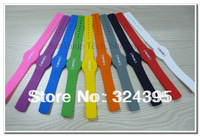 ID silicone wristband RFID /bracelet waterproof 125KHz TK4100  LF Access Control Card Waterproof 1x 10colors/lot