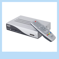 Latest DM 500C Cable DVB Set Top Box Linux Silver/Black Digital TV Satellite Receiver free shipping