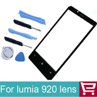 100% guarantee Outer touch digitizer Glass Lens for Nokia Lumia 920+tools+ free shipping