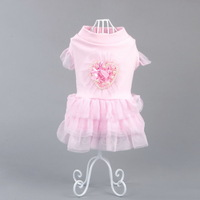 New design dog clothing cute pet clothes puppy dress summer for small medium dog cat Chihuahua Yorkshire Poodle Pitbull