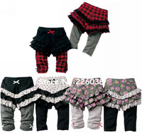 2013 New!Baby Skirt Leggings Pants/Girl Autumn Skirt-Pants PantsSkirt Cute Culottes/Girl's Skirt Pants/Free Shipping Retail 1PC