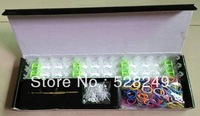 Free shipping  RAINBOW LOOM BRACELET MIX REFILL PACK 600 Twistz Rubber MULTI Bands bandz