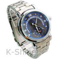 Free Shipping 2013 Best Mens Automatic Watch Black Stainless Steel Quartz Watches Men Military Quartz Watch KM891