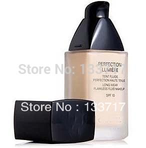 Free Shipping 2014 high Quality long-lasting Liquid Foundation Cream, Moisture Concealer Foundation Liquid SPF10,30ML(China (Mainland))