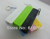 Retail Box 50sets Perfume Smelling 2600mAH Power bank Portable Battery Charger for iPhone /Samsung /Nokia /HTC