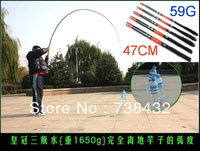 Mini Portable Fishing Rod, WG1127 2.7M After Shrinking 47cm,Fishing Rod Carbon Fiber +Gift + Accessories +Free Shipping