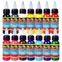 Wholesale - new Xiu Long Tattoo Ink 14 color 1 oz 30ml /Bottle Tattoo Pigment tattoo ink